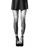 Freeshipping 2pairs/lot Amo spank HARAJUKU gradient print galaxy psychedelic pantyhose TDX-54