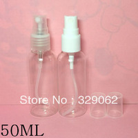 50ml spray bottle pet bottle plastic  floral water bottle small bottle sub-bottling