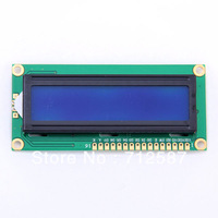 New Character LCD Module Display LCM 1602 16X2 HD44780 Blue Blacklight [9049|01|01] FREE SHIPPING 3243