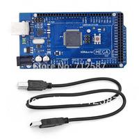 New Mega2560 Atmega 2560 Microcontroller Board USB Cable for Arduino Funduino  FREE SHIPPING