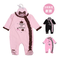 2013 NEW children's wear leggings autumn baby cotton PP pants legging pants one piece baby girl clothes -before 30 get a hat