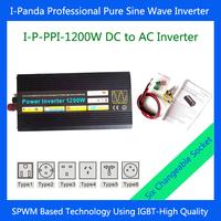 1200W Power invertor DC to AC pure sine wave inverter 1200W Car inverter Truck inverter Boat inverter DC12V DC24V  DC48V
