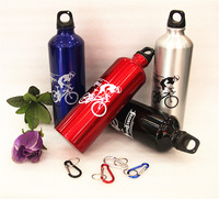 2013New Free Shipping 750ml Outdoor Sports Bike Water Bottle Cycling Camping Bicycle Aluminum Alloy Bottle 4Colors