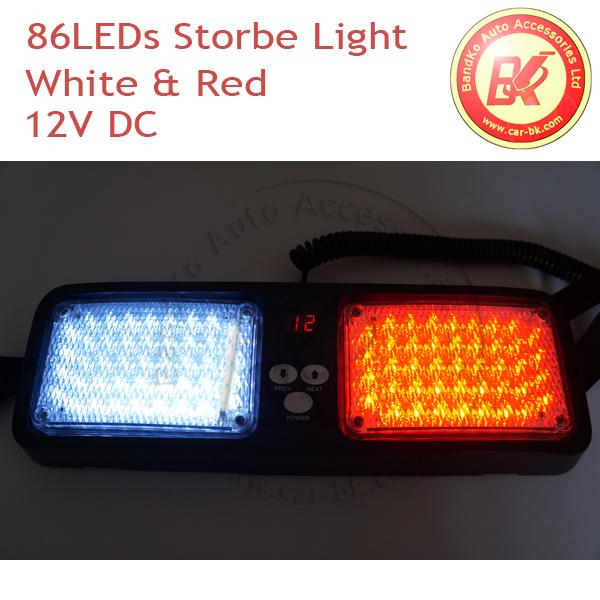 led emergency vehicle car truck super bright visor led strobe lights. Black Bedroom Furniture Sets. Home Design Ideas