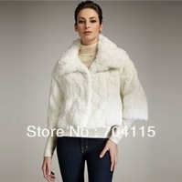 Women's Faux Rabbit Fur Coat