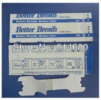 DHL Free shipping 4000PCS/LOT (55X16MM) Hot selling nasal strips. Breathe Better. Sleep Better. Feel Better