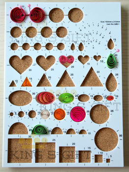 New Arrival Quilling Design Board, Quilling Workboard, Cork Board With Straight Pin Free Shipping