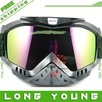 2013 new skiing mirror Skiing Eyewear snowboard goggles motorcycle goggles tactical airsoft shooting glasses,free shpping