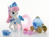 Free Shipping Original Princess Dolls Cinderella's Pony Bibbidy Beautifully Palace Pets Girls Toys Gifts