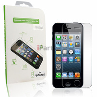 For iPhone 5 High Quality Premium Tempered Screen Guard Protector Film