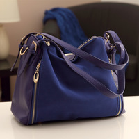 2013 autumn and winter Free shipping 1pc FASHION Vintage Brand new women's Shoulder bag PU+genuine leather cross-body Bags