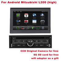 Android Mitsubshi L200 Navigation DVD MP3 DVR WIFI 3G CCD Cam SD Card for free Better Quality Better Service Free Shipping+Gifts