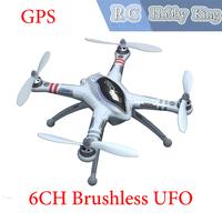 2014 new WALKERA QR X350 GPS Drone 6CH Brushless Camera UFO DEVO 7 DEVO F7 Transmitter RC Helicopter RTF BNF Free shipping