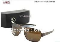 Freeshipping Classic luxury top sunglasses polarized sun glasses aluminum magnesium mirror men's sunglasses mb618