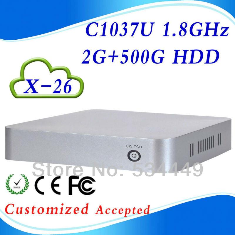 hot!! hot!! C1037U 1.8GHz X-26 2G ram 500G hdd Zero Client plug pc xcy Virtual PC support HDMI+VGA(China (Mainland))