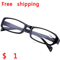 Free shipping Men women new fashion reading glasses vintage plastic resin lens glasses wholesale Without Box +1.00+1.50+2.00+2.5