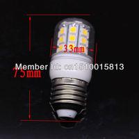 Free Shipping 5X 200-240V E27 SMD5050 30 LED Light Bulb Lamp Warm White 360 degree Led Lighting