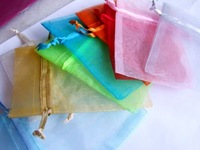 7x9cm Christmas Jewelry Gift Organza bags