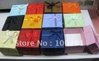 100piece/Lot 4x4x3cm Ring Gift Box