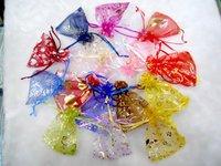 7x9cm/70x90mm Christmas&Wedding Jewelry Organza Gift Bags
