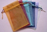 factory price!!! 1000pcs/lot 16x22cm Jewelry Organza jewelery bags wedding candy pouch