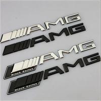 Free shipping original Car Trunk Badge Emblem for Benz AMG, 2013 high quality car Sticker