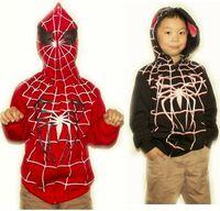 2013 autumn new design high quality child outerwear cardigan hooded jacket child spring sweatshirt halloween spiderman coat