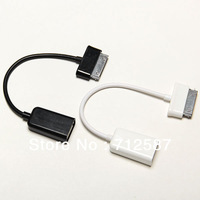 USB OTG Host Cable Adapter For Samsung Galaxy Galaxy 10.1  Tab 2 7 7.0 Plus 7.7 8.9 free shipping 3219