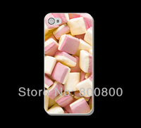 Cute Cotton Candy Hard Cover Case for iPhone 4/4S cover for iPhone 5 5s 5c (#078) Personalized Custom 5pcs/lot  Free Shipping
