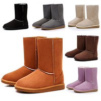 2013 Fashion Casual Women's Pumps Warm Shoes Brands With Platform Big Size Snow Boots XZ2009