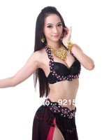 Free shipping! Sexy Chiffon Bra Belly Dance New Brand Various Colors Elegant Charming  best choice 860 suit bra stage star