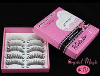 false eyelashes, 5 models mixed in a box