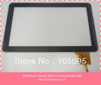 10.1 inch  MF-187-101F-7 Capacitive Touch Screen  Panel Touch Digitizer for Android Tablet   Black Color