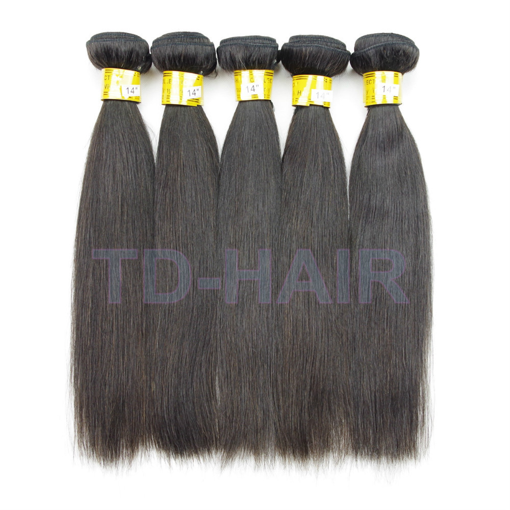 Cheap Price Remy Virgin Brazilian Human Hair Weave Straight Queen Hair