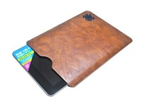 5pc/lot Leather Cover bag Case for 10.1 inch Android Tablet PC drop shipping 10.1inch sleeve bag