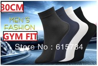 sock men best sale!! cotton socks 20Pairs/Lot Cheapest !!! 30CM Plus Ultra-thin bamboo fibre socks multil color socks Hot QA!! !