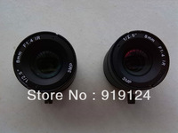 8 mm HD lens. Meet the definition network camera lens, free shipping.