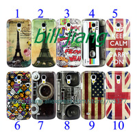 keep calm UK US flag HAHA Eiffel HAHA Cartoon tape Camera recorder hard Case for Samsung Galaxy S4 mini i9190