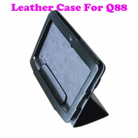 100% New Original Protective Leather case Protective film for Q88-7 inch Allwinner A13 Tablet pc