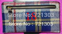 women's plaid bag clutch wallet card holder coin purse day clutch letter plaid handbag 12 colors