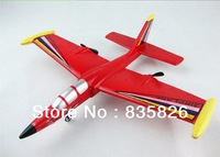Free Shipping 2CH Remote Control Glider Fighter 100 Meters 30 Mins Flying RC Airplane Fixed Wing Shatter Resistant