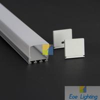 DHL/FEDEX/EMS Free shipping- LED Shallow Recessed Aluminium Profile & Diffuser