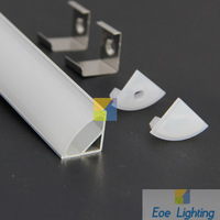 DHL/FEDEX/EMS Free shipping- Profil LED  LED Aluminum Profiles for Flexible LED Strip