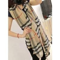2013 Wholsale Scarf  Ladies Fashion Sexy Leopard  Grid scarf, Thin pashmina shawl , muffler for women