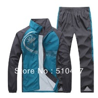 Wholesale+Free Shipping Brand Men's sportswear leisure suit men's sports suits Spring and Autumn cotton sweater