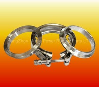 VBAND-CLAMP SET 2.5INCH (SS. CLAMP & SS. FLANGE)-auto-lock