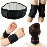 self-heating 6 PCS set neck waist knee  wrist support protector self-heating set