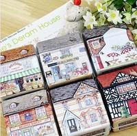 Free Shipping 12pcs/lot many design mini storage tin candy boxes square tin casket