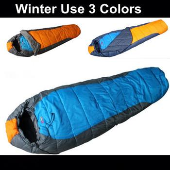 Free Express 2.9kg Three season sleeping bag,outdoor camping sleeping bag for adult,Winter mummy sleeping bag