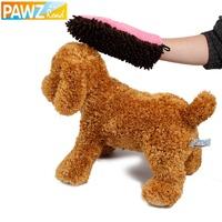 Microfiber Fiber Pet Dry Mitt Glove Drying Dog Cat Bath Towel Comfortable Material Powerful  Water Absorption 3 Colors Hot Sale
